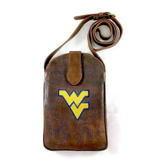 WV-P023-1: WEST VIRGINIA Gameday Boots Purse