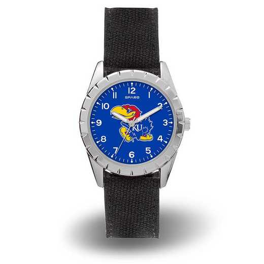 WTNKL310101: SPARO KANSAS UNIVERSITY NICKEL WATCH