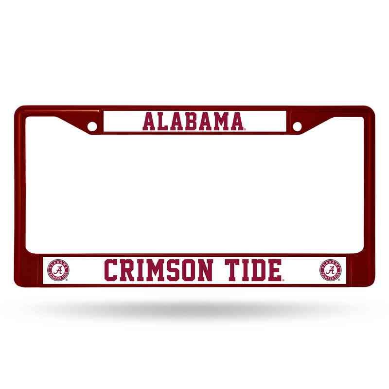 Alabama Crimson Tide Maroon Chrome License Plate Frame