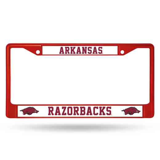 FCC360105RD: NCAA FCC Chrome Frame (Colored) Arkansas