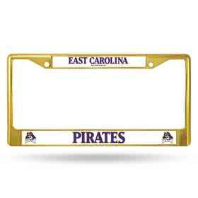 FCC130602GD: NCAA FCC Chrome Frame Colored E.Carolina