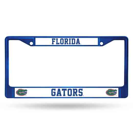 FCC100104BL: NCAA FCC Chrome Frame (Colored) Florida
