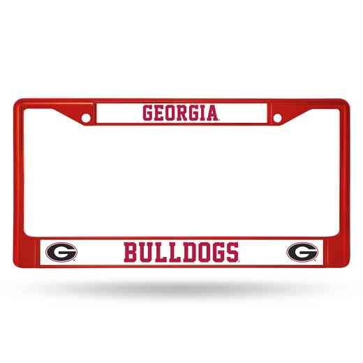 FCC110104RD: NCAA FCC Chrome Frame (Colored) Georgia