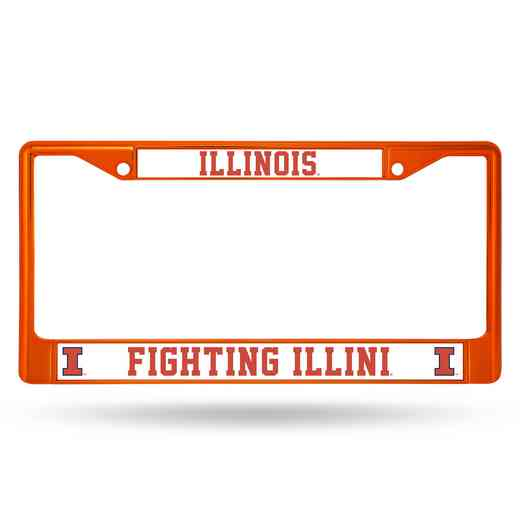 FCC400103OR: NCAA FCC Chrome Frame (Colored)Illinois