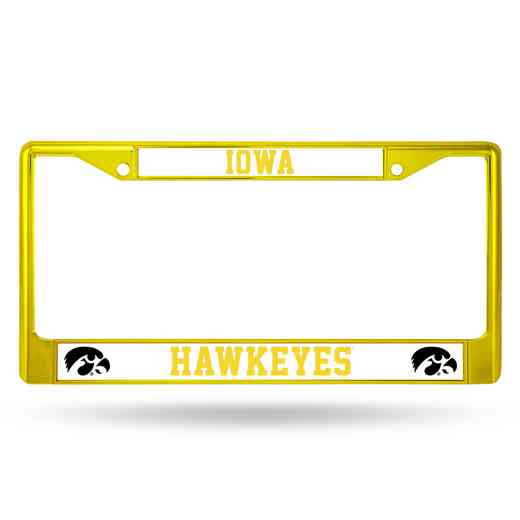 FCC250105YL: NCAA FCC Chrome Frame (Colored) Iowa