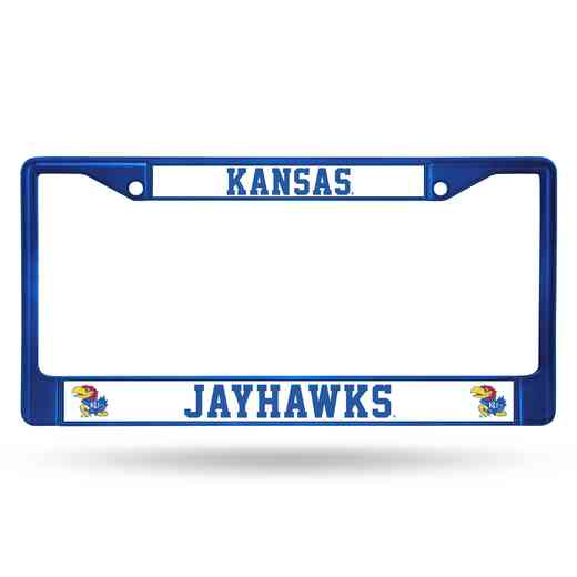 FCC310104BL: NCAA FCC Chrome Frame (Colored) Kansas