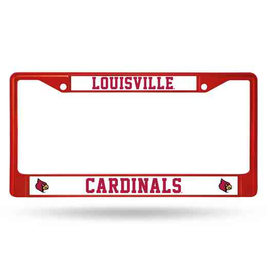 FCC190004RD: NCAA FCC Chrome Frame Colored Louisville
