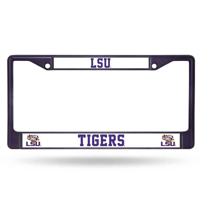 FCC170104PR: NCAA FCC Chrome Frame (Colored) LSU