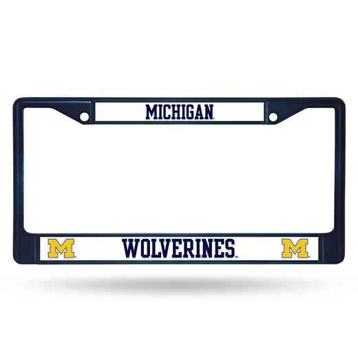 FCC220005NV: NCAA FCC Chrome Frame Colored Michigan