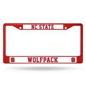 FCC130205RD: NCAA FCC Chrome Frame Colored N.Carolina