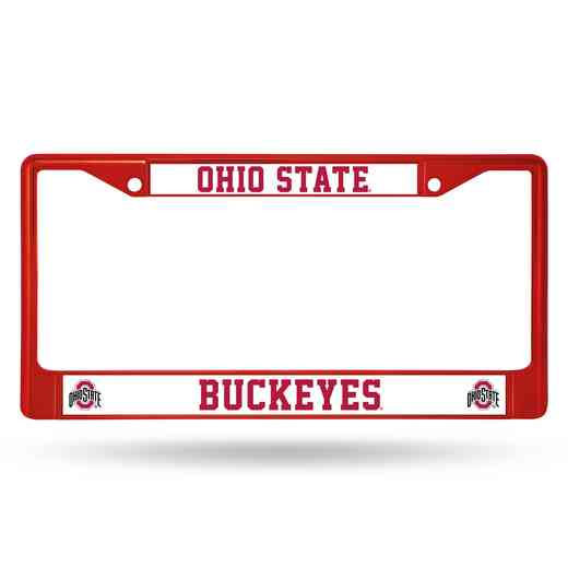 FCC300105RD: NCAA FCC Chrome Frame (Colored) Ohio ST