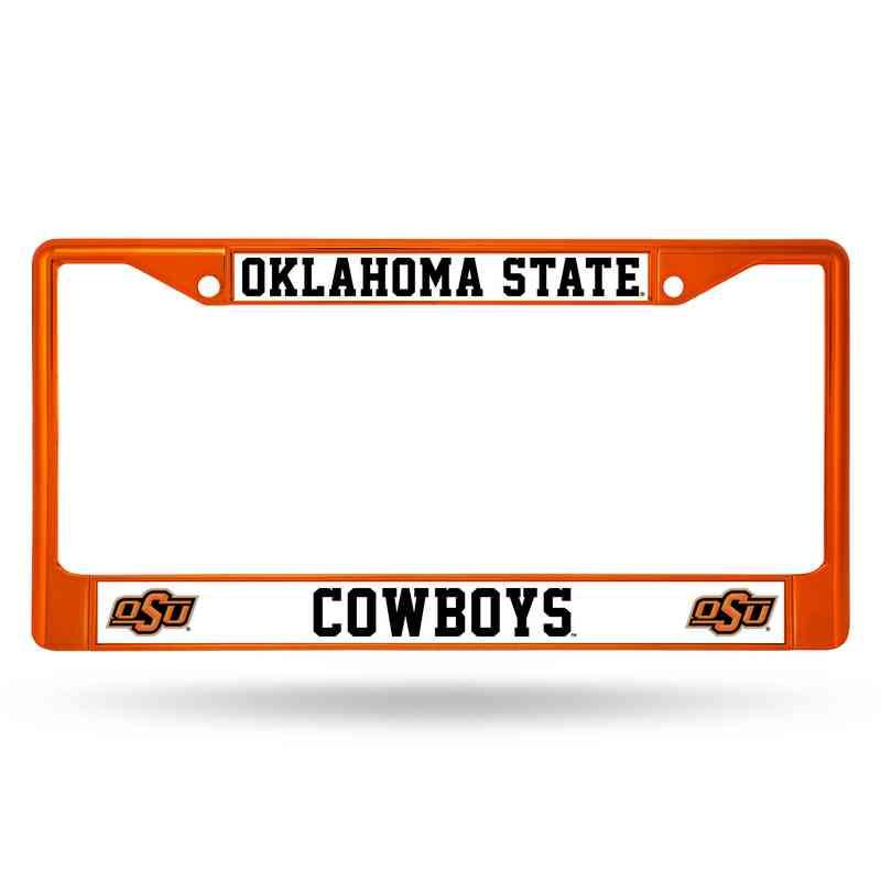 Oklahoma State Cowboys Orange Chrome License Plate Frame