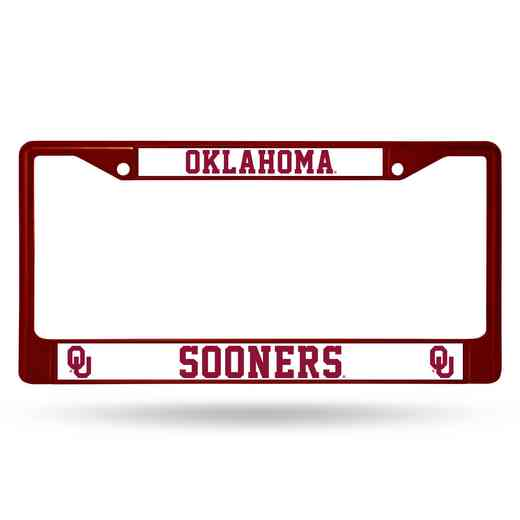 FCC230202MR: NCAA FCC Chrome Frame (Colored)Oklahoma