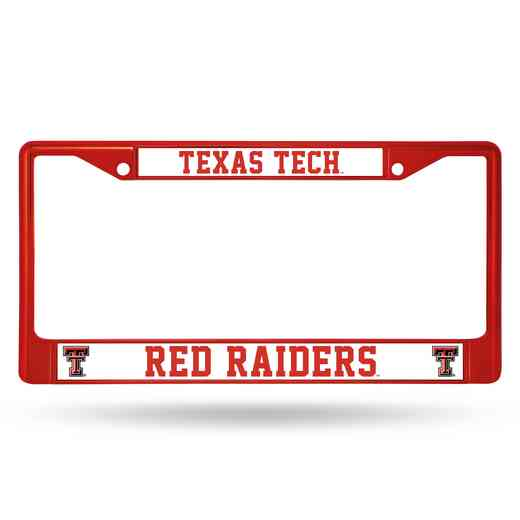FCC260803RD: NCAA FCC Chrome Frame Colored)Texas Tech