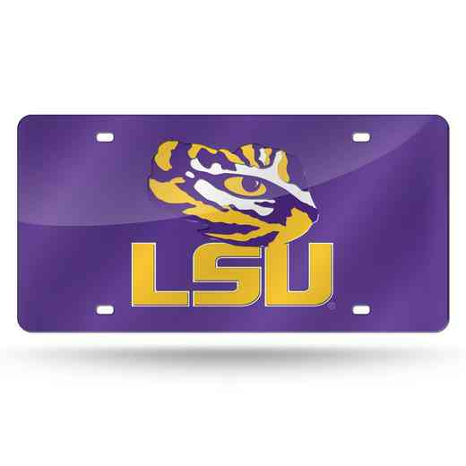 LZC170102: NCAA LZC Laser Cut Tag LSU