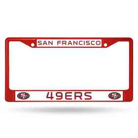 FCC1905RD: NFL FCC Chrome Frame (Colored) 49ers