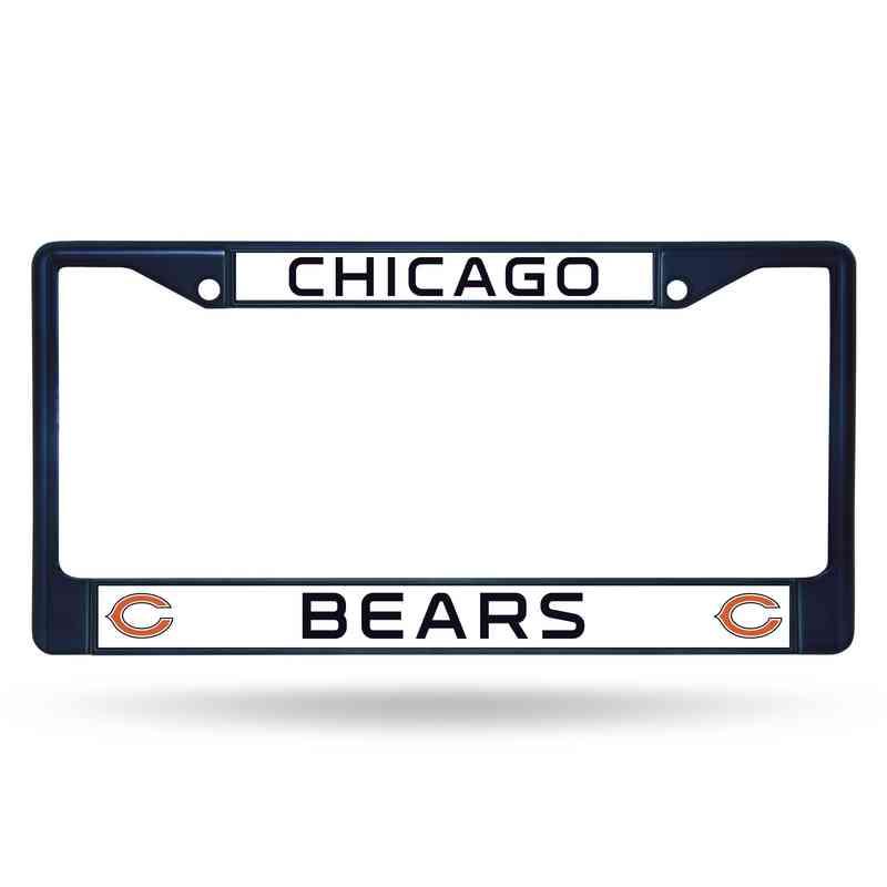 FCC1204NV: NFL FCC Chrome Frame (Colored) Bears