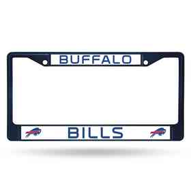 FCC3503NV: NFL FCC Chrome Frame (Colored) Bills