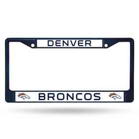 FCC1603NV: NFL FCC Chrome Frame (Colored) Broncos