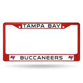 FCC2103RD: NFL FCC Chrome Frame (Colored) Buccaneer