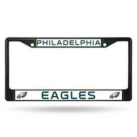 FCC2504DG: NFL FCC Chrome Frame (Colored) Eagles