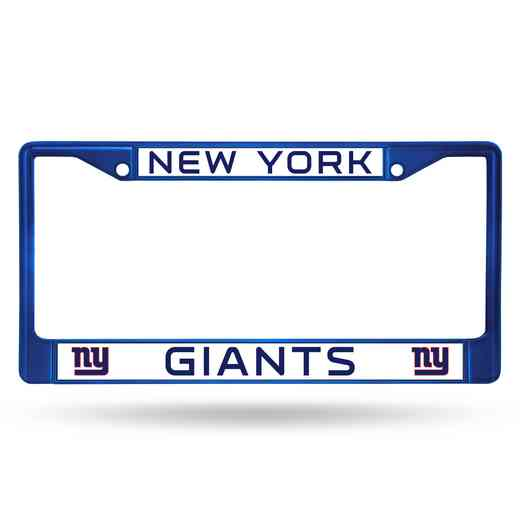 FCC1404BL: NFL FCC Chrome Frame (Colored) Giants