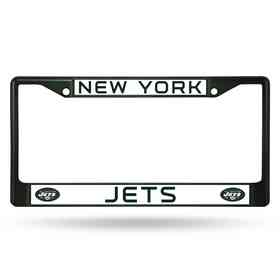 FCC2203DG: NFL FCC Chrome Frame (Colored) Jets