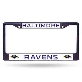 FCC0705PR: NFL FCC Chrome Frame (Colored) Ravens