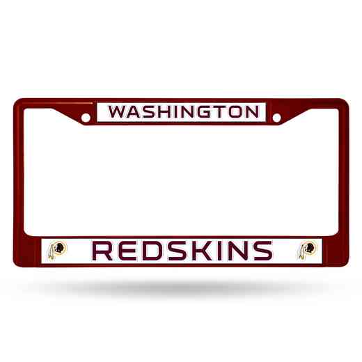 FCC1004MR: NFL FCC Chrome Frame (Colored) Redskins