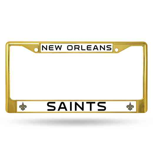 FCC1303GD: NFL FCC Chrome Frame (Colored) Saints