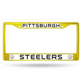FCC2305YL: NFL FCC Chrome Frame (Colored) Steelers