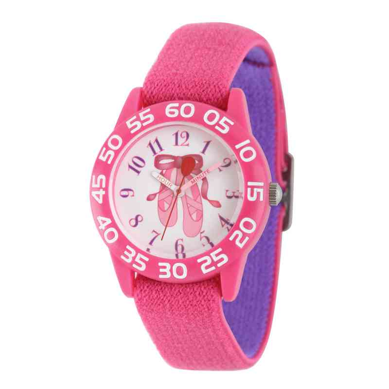 W002299: Red Balloon Girls Ballerina Nylon Pink/Purple Watch