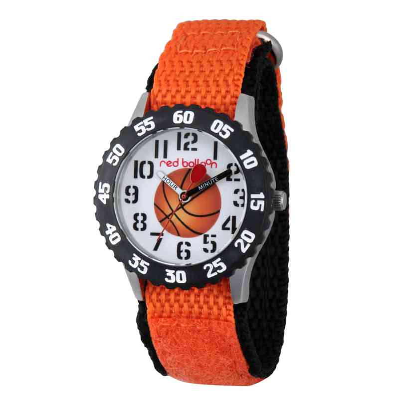 WRB000038: SSTN Red Balloon Boys Basketball Nylon Orange Watch