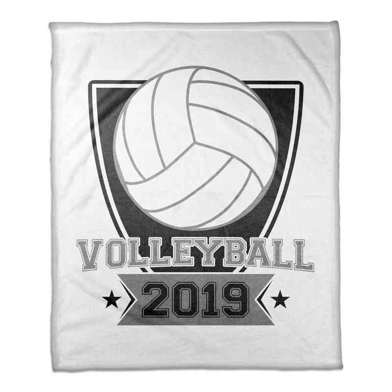 4627-S: 50x60 Throw Personalized - Volleyball