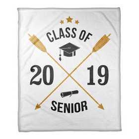 4627-K: 50x60 Throw Class of 2019 - Arrows