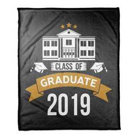 4627-L: 50x60 Throw 2019 Graduate