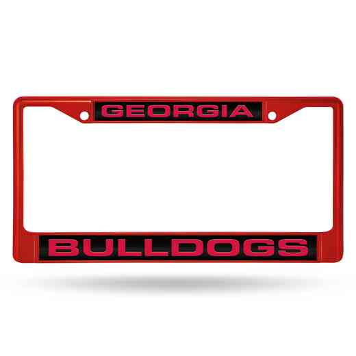 FNFCCL110103RD: NCAA FCCL Lsr Color Chrome Frm Georgia