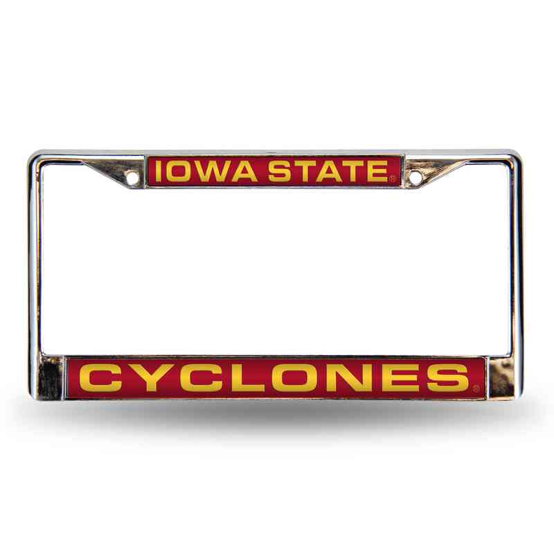 FCL250201: NCAA-FCL Chrome Lsr License FrmIowa ST