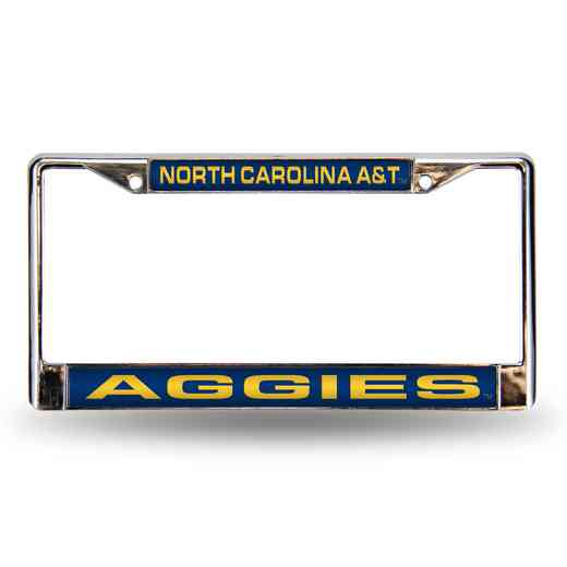 FCL131301: NCAA-FCL Chrome Lsr License FrmNorth Carolina A&T