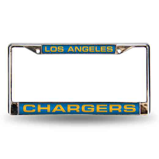 FCL3402: NFL FCL Chrome Lsr License Frame Charger