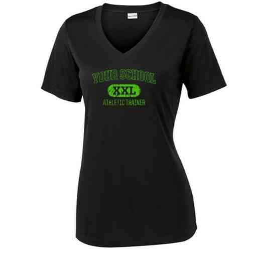 Athletic Trainer Sport Tek Womens V-Neck Competitor T-shirt