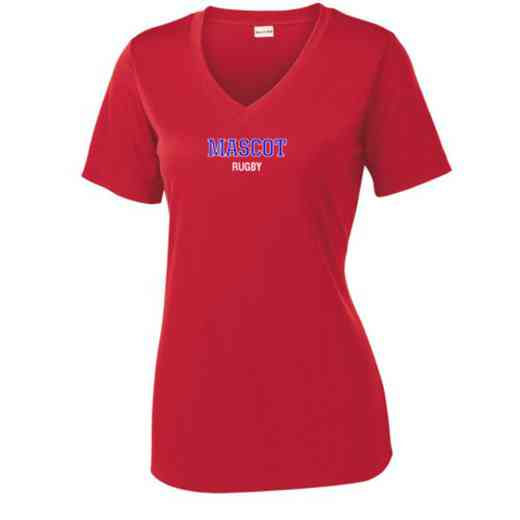 Rugby Sport Tek Womens V-Neck Competitor T-shirt