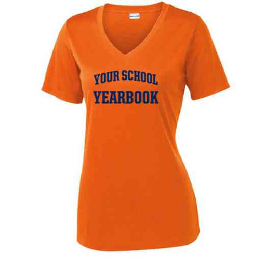 Yearbook Sport Tek Womens V-Neck Competitor T-shirt