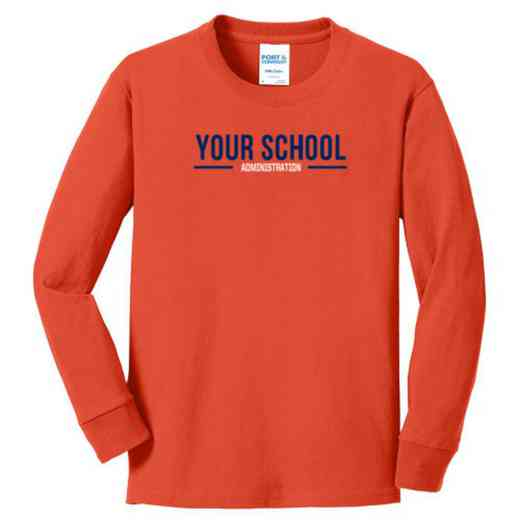 Administration Youth Classic Fit Long Sleeve T-shirt