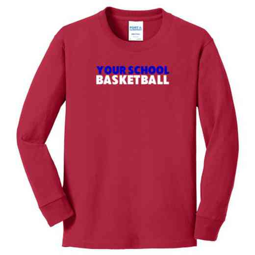 Basketball Youth Classic Fit Long Sleeve T-shirt