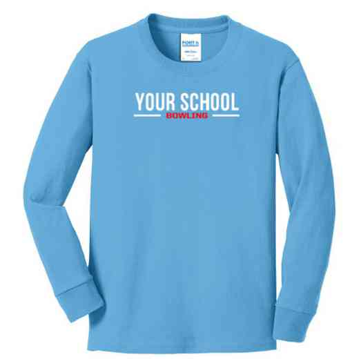Bowling Youth Classic Fit Long Sleeve T-shirt