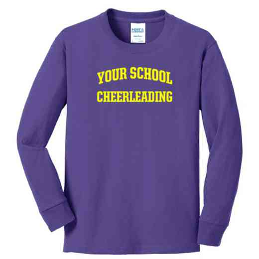 Cheerleading Youth Classic Fit Long Sleeve T-shirt