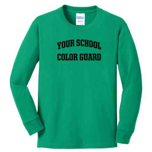 Color Guard Youth Classic Fit Long Sleeve T-shirt