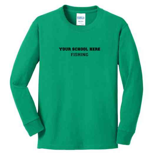 Fishing Youth Classic Fit Long Sleeve T-shirt