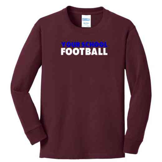 Football Youth Classic Fit Long Sleeve T-shirt